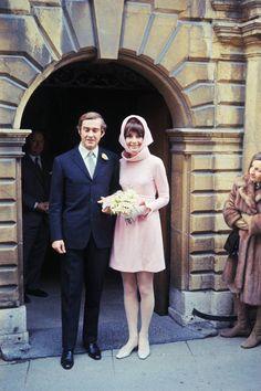 Второе свадебное платье Одри Хепберн