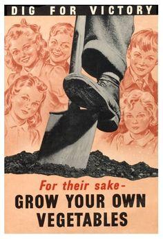 """""""Dig for Victory"""" USDA c. 1942 - 1945"""