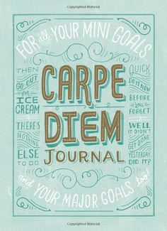 'Carpe Diem Journal' by Chronicle Books.  http://t-h-i-n-g-s.blogspot.com