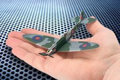 A Great Mini Remote Control Airplane Kit! The Micro Spitfire Set | Microflight.com