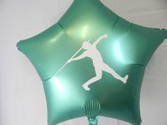 Javelin Balloon, Track and Field Decorations, Boy Javelin Thrower, Male Javelin, Personalized Balloo Purple Balloons, Confetti Balloons, Balloon Garland, The Balloon, Graduation Balloons, Graduation Party Decor, Wedding Balloons, Birthday Balloons, Personalized Balloons