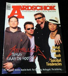 Aardschok Nr.12 December 1998 | Music magazines | Disc-records
