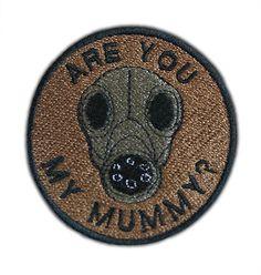 Are You My Mummy Patch by AffrayPatchworks on Etsy, $5.00