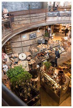 Retail Design | Food Grocery Display | Organic Stores | Magasin 36 | Höganäs, Sweden: