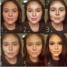 How Women Transform With Makeup (10 Photos)
