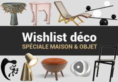 Ma sélection de meubles, luminaires et accessoires décoratifs que j'ai adoré au salon Maison & Objet de Paris, lors des sessions de septembre 2016 et...