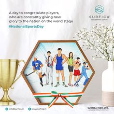 A day to congratulate players, who are constantly giving new glory to the nation on the world stage National Sports Day..! #Surfica #Surficalam #Laminates #laminate #laminatescollection #LaminatesDesign #BestLaminates #LuxuryLaminates #LaminateCollection #LaminateSheet #NationalSportsDay #SportsDay2020 #SportsDay #Sports #SportsDayofIndia #DhyanChand #IndianSports