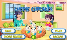 Free Cooking Games, Cheese Cupcake, Play More Games, Android, Cake Games, Oreo Cupcakes, Play Food, Play Online, Free Download
