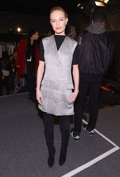 Pin for Later: These Stars Didn't Play Around When It Came to Their Fashion Week Outfits Kate Bosworth At Noon by Noor.