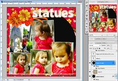 Creating text IN a path (or inside of a shape) on a digital scrapbooking layout: