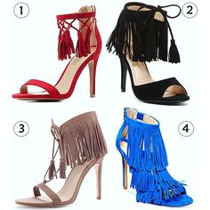 NEW POST Show Me The Shoes: Spring's Trendy Fringed Suede Sandals for Under $40! #StyleDarlingDaily #fashion #style #accessories #shoes #shopping #affordablefashion #springstyle #musthaves #trendy http://wp.me/pDZ0Z-6GZ