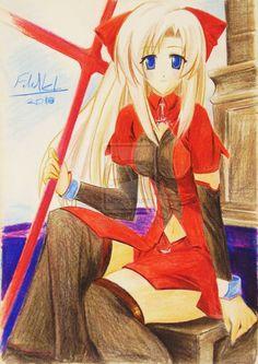 Anime girl 14 by Fahad-Naeem.deviantart.com on @DeviantArt