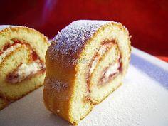 Rulada cu gem Bread, Sweet, Food, Sweet Treats, Essen, Breads, Baking, Buns, Yemek