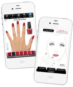 12 beauty apps to download - i love the sunscreen one that tells you about the ozone...or you could just always reapply!
