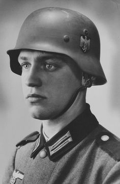 """Werner Goldberg (October 3, 1919 – September 28, 2004) was a half-Jewish German (Mischlinge) who served as a soldier for the Third Reich and whose image appeared in a German newspaper as """"The Ideal German Soldier"""". Goldberg joined the Wermacht army on December 1, 1938."""