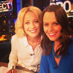 Saben Spotting: Is that a BFF Cobalt Blue Necklace @Mia Freedman's wearing on @theprojecttv with @bickmorecarrie?! xx