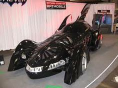 Batman is the best. For Batman's return to the big screen in Batman Forever, a whole new Batmobile was designed. It made use of neon lighting on the undercarriage and had a number of defenses onboard. Motor Chevrolet, Robin, Forever Movie, Batman Returns, The Dark Knight Rises, Gotham City, My Ride, Dream Cars, Warriors
