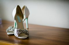 Bride detail photo, wedding shoes