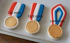 Medal Cookies #olympic #cookies #sports