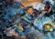 Industrial painting - Gallizio