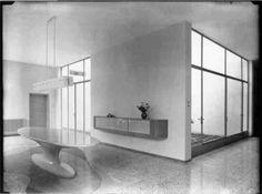Villa Muggia (1935-1938) @Bel Poggio, Imola> Piero Bottoni, Mario Pucci [via  Paolo Carli Moretti  ]