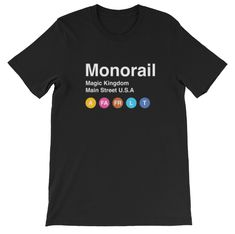 Monorail Station Tee — disneymuggles