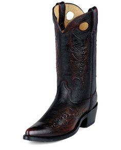 "Durango Men's 12"" Western Gambler Boots - Black Cherry"