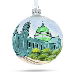 Italy Glass Ball Christmas Ornament 4 Inches Rome BestPysanky Colosseum