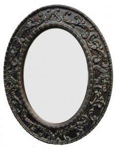 Transitional Dark Gold Mirror