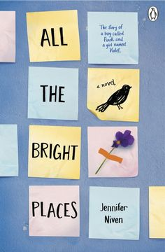 "The Guardian names #AlltheBrightPlaces their teen book of the month and interviews @jenniferniven  ""I also hope it inspires us to look deeper at the people and places around us. And I hope it inspires discussions about teen mental health."""