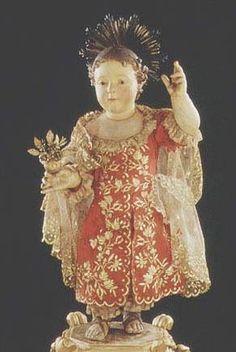 Il Divino infante e la Bambina Maria