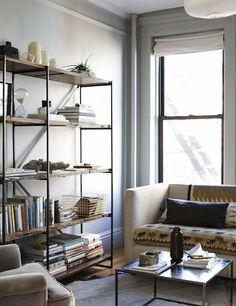 sitting room shelves