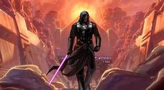 Darth Revan, my favorite charcter from SW Universe