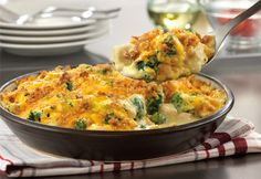 Chicken, broccoli and cheese make a winning combination in this mouthwatering casserole that bakes in just 20 minutes.