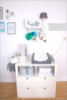 Baby Erstausstattung - Was braucht man wirklich - am Wickeltisch?