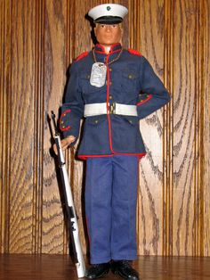 Vintage GI Joe Action Marine, Dress Blues Set, # 7710