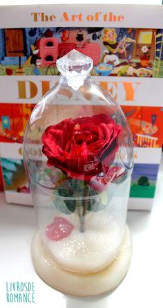 faça você mesmo rosa da bela e a fera beauty and the beast rose6