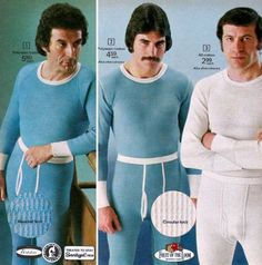 What the?? Some of these are beyond belief! 40 Cringeworthy Men's Fashion Ads From the 70s