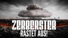 ZERBERSTER RASTET WEGEN FLÜCHTLINGEN AUS   UNZENSIERT