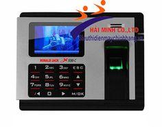 http://sieuthidienmaychinhhang.vn/vi/san-pham/may-cham-cong-ronald-jack-x938-c-1550.html Máy chấm công RONALD JACK X938-C - Màn hình màu TFT. - Chấm công bằng dấu vân tay với màn hình màu tuyệt đẹp. - Quản lý đến 3.000 dấu vân tay & 3000 Thẻ cảm ứng + Password. - Một người có thể đăng ký 10 dấu vân tay & password. - Sử dụng Chip xử lý Intel của Mỹ. - Sử dụng Sensor thế hệ mới chống trầy, chống mài mòn . - Dung lượng nhớ lưu trữ trong máy 100.000 IN/OUT. -  Pin lưu điện gắn bên trong máy…