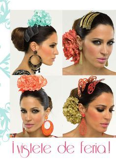 moda flamenca 2014 ECI | PDF Flipbook Spanish Costume, Spanish Dress, Spanish Dancer, Flamenco Costume, Flamenco Dancers, Rare Clothing, Crown Hairstyles, Goddess Hairstyles, Spanish Fashion