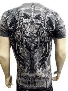 Konflic Celtic Cross T-Shirt