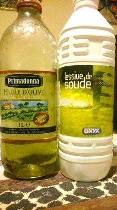 huile et soude