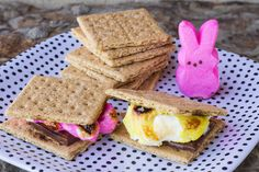 How To Make Peeps® S'mores - The Glue String | The Glue String