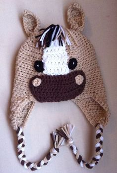horse hat- wish I had one little enough to wear this!