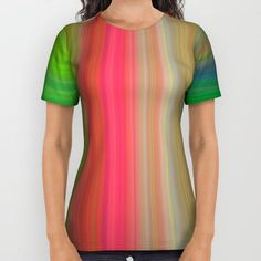 Vertical lines All Over Print Shirt by David Zydd #PrintedGift