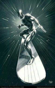 Silver Surfer (Norrin Radd) is a fictional character, a superhero in the Marvel… Marvel Comics Art, Marvel Comic Books, Comic Book Characters, Comic Book Heroes, Marvel Heroes, Marvel Characters, Comic Books Art, Comic Art, Captain Marvel