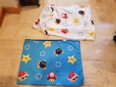 Nintendo Super Mario The Race Is On TWIN Sheet Set Flat & Fitted 2 Piece Set  #Nintendo #TheRaceIsOn