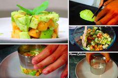La recette du tartare végétarien à l'avocat, melon et pomme - La Recette