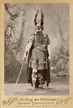 Hermann Bachmann Wotan-Walküre 1896